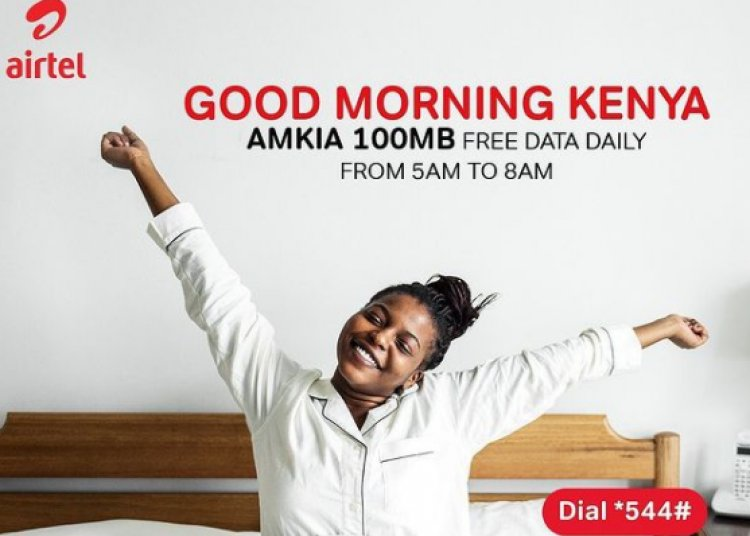 Airtel Kenya Users to benefit From Free Daily 100MB